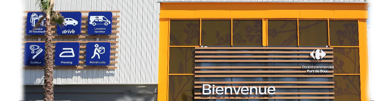 plus grand choix prix spécial pour en gros Centre commercial Carrefour Port de Bouc : 24 boutiques ...